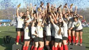 Central Missouri wins the 2017 DII Women's Soccer Championship