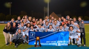Messiah wins the 2017 DIII Men's Soccer Championship