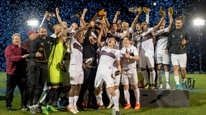 Charleston (WV) wins the 2017 DII Men's Soccer Championship