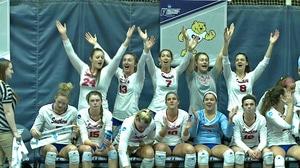 2017 DII Women's Volleyball: Quarterfinal Recap