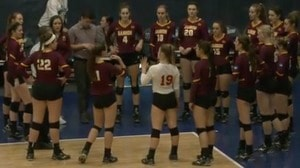 2017 DII Women's Volleyball Semifinal Full Replay: Florida Southern vs. Gannon