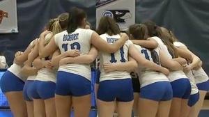 2017 DII Women's Volleyball Semifinal Full Replay: Concordia University-St. Paul vs. Rockhurst