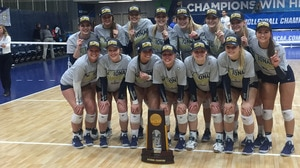 Concordia-St. Paul wins the 2017 DII Women's Volleyball Championship