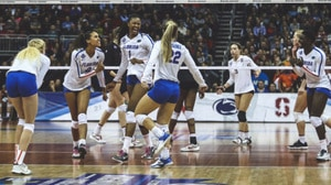 2017 DI Women's Volleyball:  Florida holds on to beat Stanford 3-2