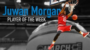 Indiana's Morgan earns Player of the Week