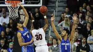 South Carolina beats Kentucky for first time since 2014