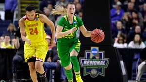 Sabrina Ionescu talks triple doubles with Andy Katz