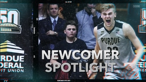 Haarms is Purdue's gift from the Netherlands