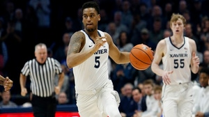 Trevon Bluiett is happy with Xavier's nail...