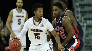 South Carolina gets third win over a...