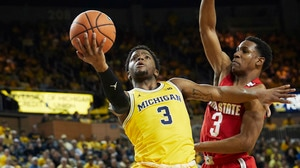 No. 22 Michigan upsets No. 8 Ohio State on senior night