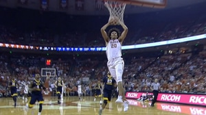 Texas upsets No. 20 West Virginia in overtime without Bamba