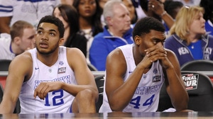 Where does the 2015 Kentucky squad rank among the greats to come up short?