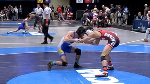 2018 DII Wrestling Championship: Day One Recap