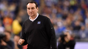 Coach K becomes the winningest coach of all-time in college basketball