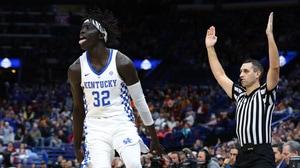 Gabriel's three-point barrage lifts Kentucky over Alabama