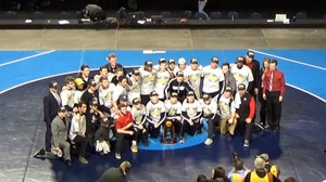 St. Cloud State wins the 2018 DII Wrestling Championship