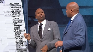 Chuck and Kenny struggle to agree on their joint bracket