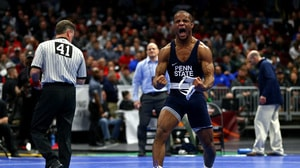 Penn State's five defending champions advance to finals