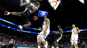 These dunks from Friday's first round of the NCAA tournament will get you out of your seat