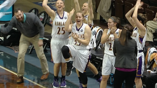 Ashland beats Indiana, 92-64