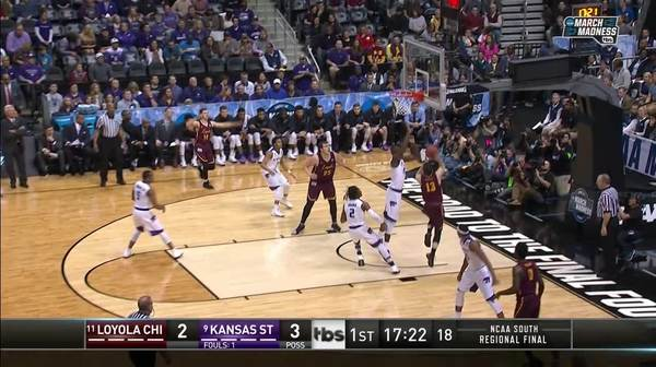 Kansas State Wildcats vs. Loyola (IL) Ramblers: 1st Half Highlights