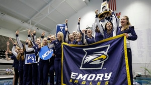 Emory wins the 2018 DIII Swimming & Diving National Championship