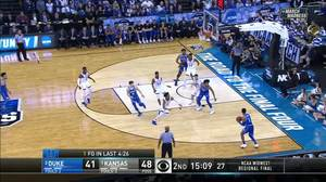 3-pointer by Trevon Duval