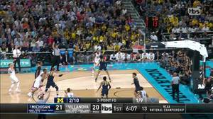 3-pointer by Donte DiVincenzo