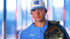 UNC's WWE-style belt is a badge of honor at CWS
