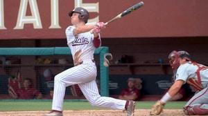 Mississippi States Elijah MacNamee, the home run hero