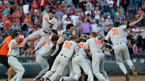 Oregon State defeats Arkansas in three games to claim CWS title