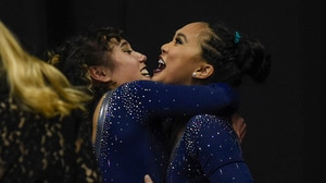 A look back at the dramatic finish of UCLA gymnastic's national championship run