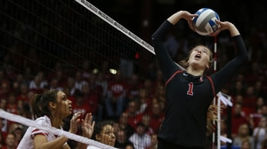 Stanford's Jenna Gray setting the table for another title run