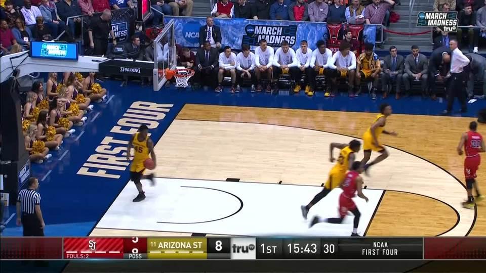 Arizona State Sun Devils vs. St. John's Red Storm: 1st Half Highlights   NCAA.com