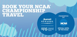 Book NCAA Championship travel