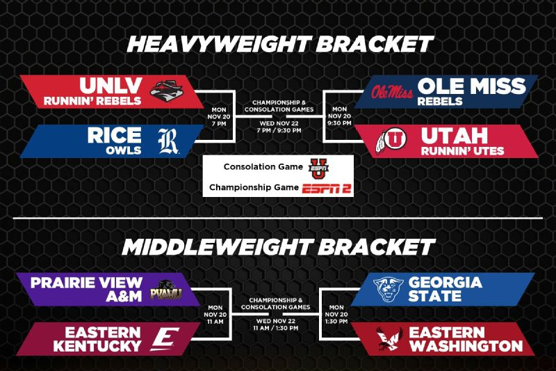 Brackets for some holiday tournaments in 2017-18 season