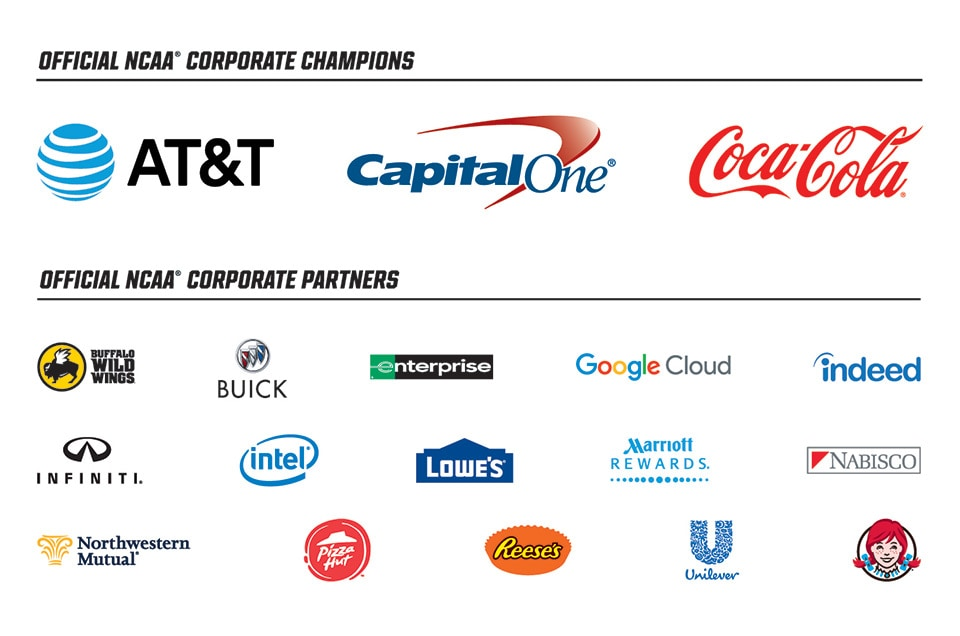 Corporate Champions And Partners Ncaa